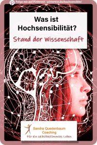 Hochsensibilität Wissenschaft und Forschung Hochsensible hochsensibel Merkmale